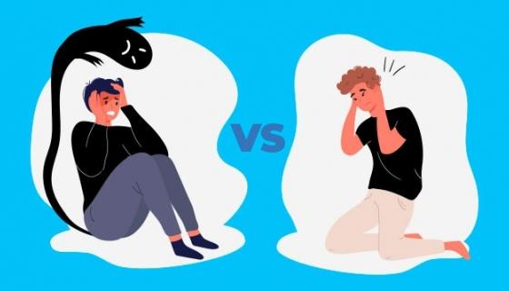 ANSIA E PANICO: UGUALI O DIFFERENTI?